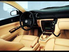 2001 Volkswagen Passat W8 interior