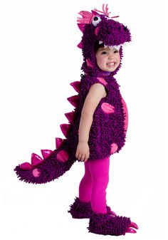 dinosaur costumes for toddlers girl | ... and Bug Costumes Dinosaur Costumes Paige the Dragon Toddler Costume
