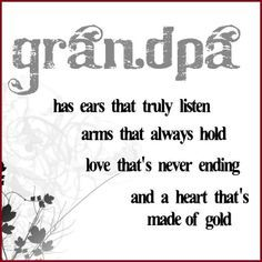 Papa, Miss you already! Missing your farmer hand on my Cheek, telling me to be a good girl and that everything will be okay.