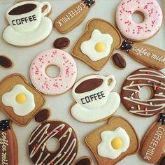 Imagen de coffee, Cookies, and good morning