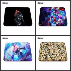 Customization League of Legends DJ Computer LOL Gaming Rubber Mouse Pad Mousepads Decorate Your Desk Non-Skid Rubber Pad