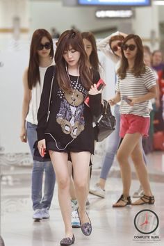 #tiffany #snsd #airport_fashion
