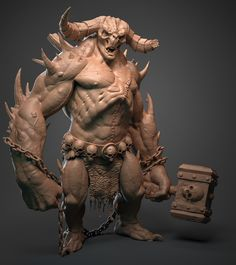 Hephasto the armorer by Mohammed Anuz | Creatures | 2D | CGSociety