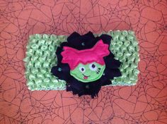Cute Witch Halloween Headband by 3LL Bows!