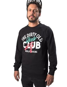 The dirty old doors club sweatshirt from Dudes Factory Berlin now on lokalshirt.com