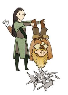 I bet hugging Fili is like hugging a cat: really soft and fluffy but surprisingly sharp