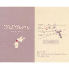 "momen - その他写真:はらドーナッツ系カップケーキ""momen""KICHIJOJI名刺カード"