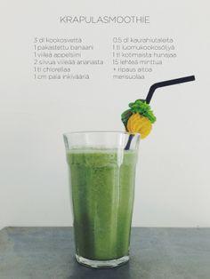 Chlorella is my new green friend | Mini Fitness http://minifitness.fitfashion.fi/2013/08/22/chlorella-is-my-new-green-friend/