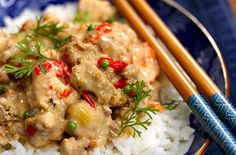 Slow Cooker Thai Red Curry Turkey