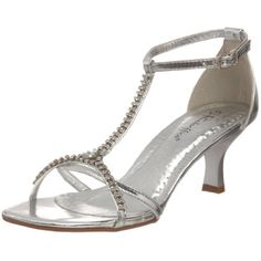 Silver Sandals Small Heel
