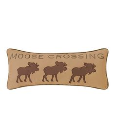 'Moose' Throw Pillow