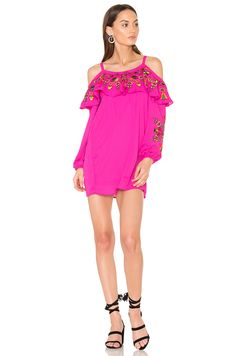 VAVA by Joy Han Leela Dress in Magenta