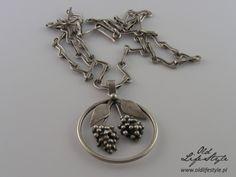 Naszyjnik ORNO/ necklace ORNO/ polish vintage jewellery/ vintage silver…