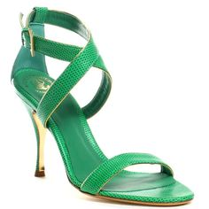 Hollywould shoes. A bit high in the heel but dealable.