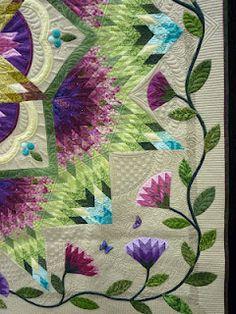 Sewing & Quilt Gallery: My Zen Garden at VQF