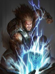 ArtStation - Thor, Ye Fan