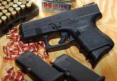 The Glock 26 | Best 9mm Handguns For Women | https://guncarrier.com/9mm-handguns-for-women/