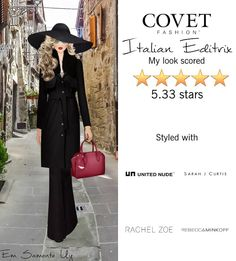 Italian Editrix @covetfashion #covet #covetfashion #covetfashionapp #fashion #covetfall2015 #fall2015 #womensfashion #italian #italianeditrix #fashioneditor #rachelzoe #halstonheritage #rebeccaminkoff #julievos #sarahjcurtis #apeacetreaty #rowleyeyewear