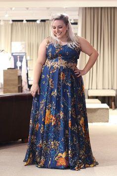 vestido de festa plus size para convidada de casamento 2