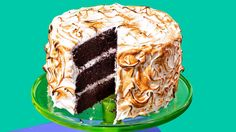 Devil's-Food Cake With Toasted-Marshmallow Frosting Recipe - NYT Cooking