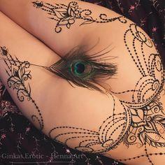 "Classical #ginkaserotic henna belt which ""view"" is your favorite? #hennalingerie more at @ginkas.erotic Не знаю как я могла так долго не выкладывать этот пояс с прошлого года такая девушка была красивая! Отзовись  ждите большой поток любви и красоты из моего архива 2017♥️ готовы??  . . . #ginkaserotic2018 #ginkasmehndi #blvckwork #hennadesign #hennatattoo #hennainspire #hennaart #henna #tattoo #биотату #менди #мехенди #хна #росписьхной #обучениемехенди #бодиарт #ню #обнаженка #m..."