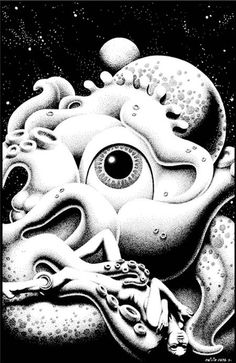 Philippe Caza is a French comics artist. With the emergence of the magazine Métal Hurlant in Caza began to supply work within the s. Klimt, Dark Artwork, Creatures Of The Night, Eye Art, Collage Art, Surreal Collage, Collages, Comic Artist, Art World