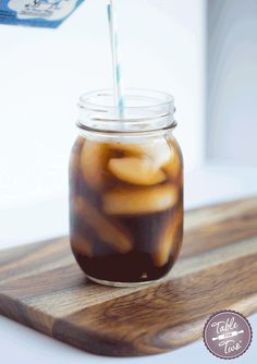 How To Make Cold-Brew Coffee at Home...it takes no time and very minimal effort! You'll wake up to the most amazing iced coffee drink. Just in time for summer!