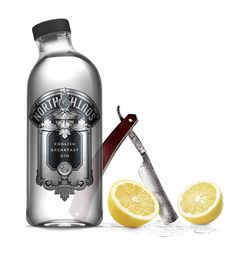 North & South English Breakfast Gin (Concept)