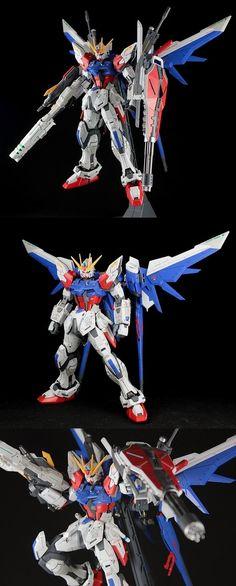 GUNDAM GUY: MG 1/100 Build Strike Gundam Full Package - Custom Build