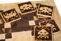 Space Invaders Coasters