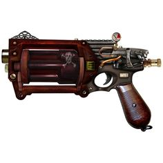 Steampunk weapons - [dontdopeas] ❤ liked on Polyvore
