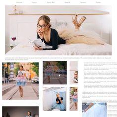 UI Design for a tutu skirt designer's web site.  #comingsoon