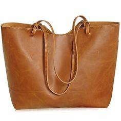 Jack&Chris®New Women Ladies' Genuine Leather Tote Bag Handbag Shoulder Bag, YSZ-105 (yellow-brown) Jack&Chris http://www.amazon.co.uk/dp/B00VSN6NUO/ref=cm_sw_r_pi_dp_4pY-vb0Z0M4W1
