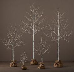 Winter Wonderland Trees - Birch