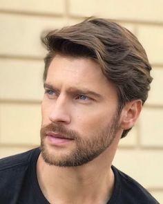 Medium Beard Styles, Beard Styles For Men, Hair And Beard Styles, Hair Styles, Popular Mens Hairstyles, Mens Hairstyles With Beard, Haircuts For Men, Hairstyle Men, Bald Men With Beards