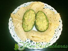 ConDosCucharas.com Guacamole Original - ConDosCucharas.com Sin Gluten, Guacamole, Avocado Toast, Tapas, Mexican, The Originals, Breakfast, Ethnic Recipes, Food