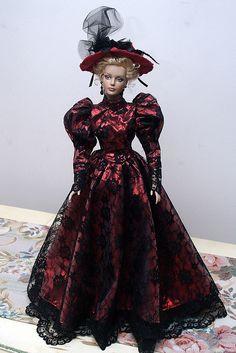 Lady in Red by Renee Fab, via Flickr