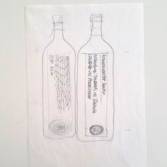 Fassati wine packaging sketches and label mockups, circa 1994 Box Massimo and Lella Vignelli Papers Vignelli Center for Design Studies Rochester, New York National Drink Wine Day, Massimo Vignelli, Wine Packaging, Wine Drinks, Label, Sketches, Graphic Design, York, Happy