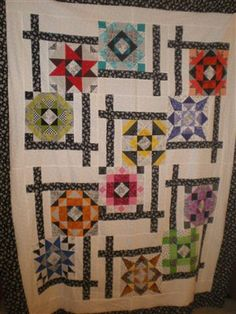 BQ QUILT.  With quilted focal squares, would be a great application for 'samplers'.  BQ-2  $5.00 Quilt - Quilters Club of America