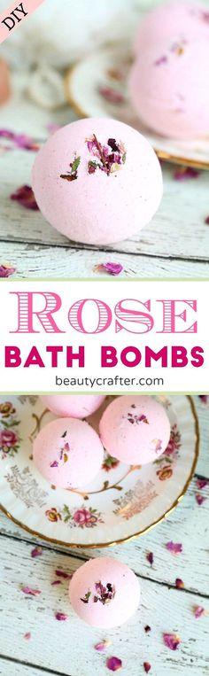 Bath salts recipe rose petals ideas for 2019 Mason Jar Crafts, Mason Jar Diy, Aloe Vera, Bath Boms Diy, Diy Rose, Rose Bath, Bath Bomb Recipes, Soap Recipes, Dried Rose Petals