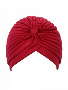 Red Turban Hat Dresses #Tops #Swimwear #Jeans #Jackets #Skirts #Shoes