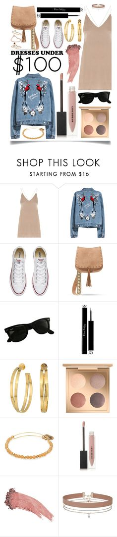 """Dress Under  $100"" by ittie-kittie ❤ liked on Polyvore featuring Converse, Steve Madden, Ray-Ban, Christian Dior, Tory Burch, Burberry, Elizabeth Arden, Miss Selfridge, Topshop and Spring"