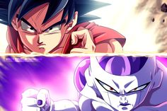 One of the best fan pieces I've seen in a while! Goku vs Frieza: Fukkatsu no F by uchiha-itasuke.deviantart.com on @DeviantArt