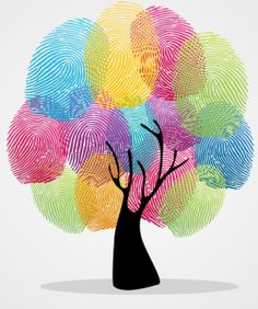 Illustration about Diversity color tree finger prints illustration background set. Vector file layered for easy manipulation and custom coloring. Illustration of asian, human, ethnic - 32018617 Toddler Crafts, Preschool Crafts, Crafts For Kids, Arts And Crafts, Family Tree Crafts, Fun Crafts, Family Art Projects, Family Tree For Kids, Fingerprint Art