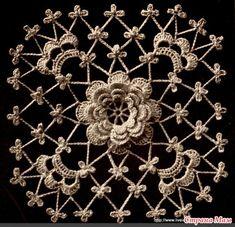 Irish crochet pattern.
