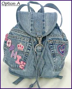 denim bag inspiration