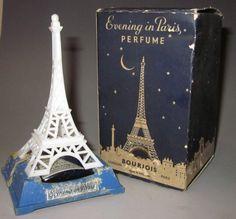 RARE Vintage Evening in Paris Bourjois Perfume Bottle Paris London with BOX1930S | eBay