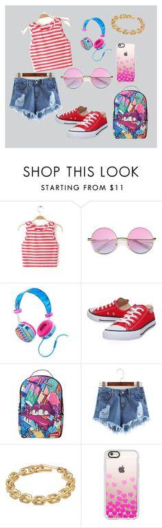 """look"" by kristinattrn on Polyvore featuring мода, Lisa Frank, Converse, Sprayground, Calvin Klein и Casetify"