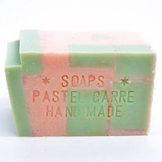 brick - 手作り石鹸の通販ネットショップ artist made soap PASTEL CARRE 無添加手作り石鹸の販売