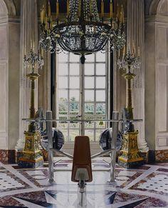 Michael Zavros (Australian, b. 1974). The New Round Room. Oil on canvas, 210 × 167 cm, 2012